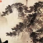 明-唐寅-东篱赏菊图