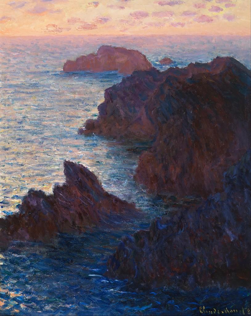 Claude_Monet_-_Rocks_at_Belle-lle,_Port-Domois