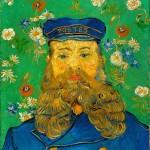 后印象派 荷兰 梵高 Joseph Roulin的肖像