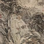 唐-李白-望庐山瀑布