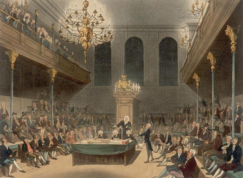 19世纪初的英国下议院。