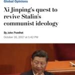 华盛顿邮报:习寻求复活斯大林的党化意识形态