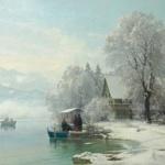安德斯的丹麦风景画