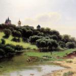 加米涅夫的19世纪俄罗斯风景画