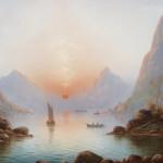 尼尔斯的丹麦风景画