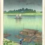 国宝艺术家川濑巴水的日本风景画(二)